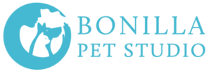Bonilla Pet Studio Logo Blue